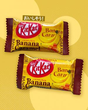 Banana Caramel Kit kat