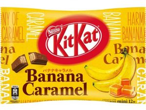 Banana Caramel Kit Kat Bag