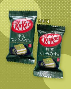 Matcha Tiramisu Kit Kat