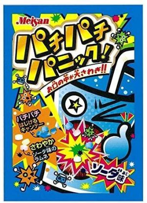 Pachi Pachi Panic Popping Candy Soda Flavour