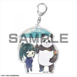 Maki Zen'in & Panda keyring